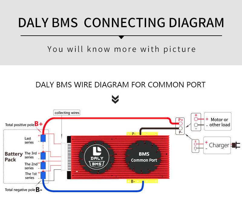 BMS connection Diagram